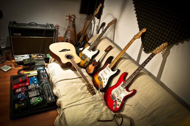 Guitarz, pedalz and vox