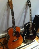 Martin 00028 Eric Clapton and Gibson 185